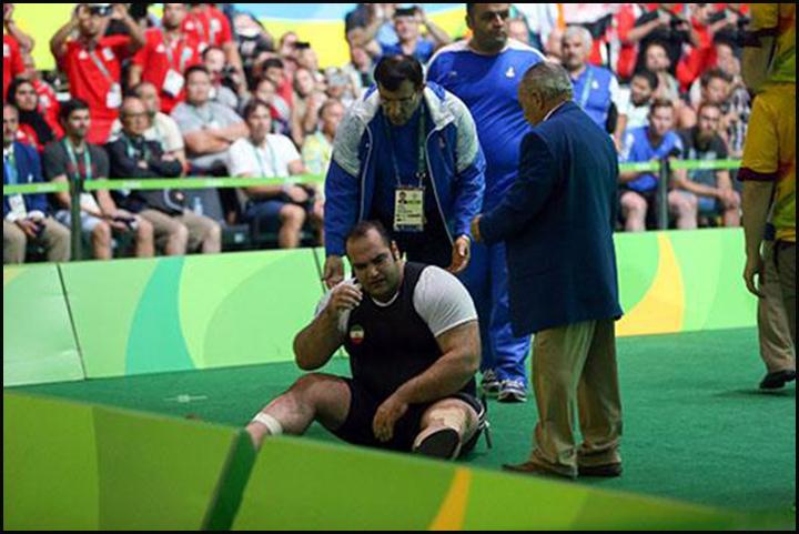 اشکهای بهداد سلیمی | المپیک ریو 2016